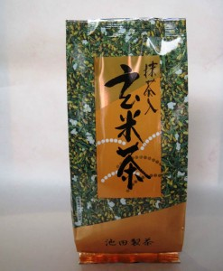 30106 Genmaicha with Matcha 200g Bag $15