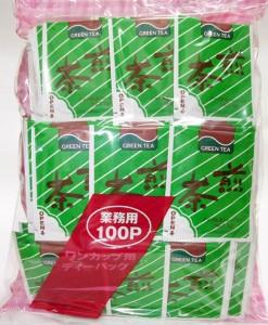 30111 Sencha Bulk Tea Bag 100 Bags $39